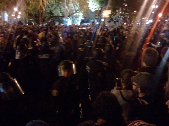 Occupy Portland Eviction 11/13/11