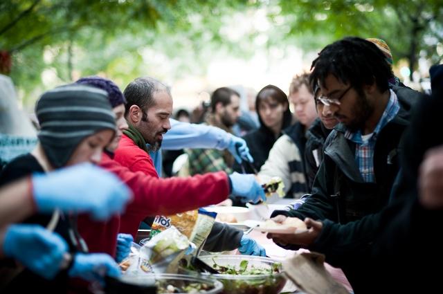 Occupy food